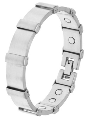 328 Mens brushed stainless steel